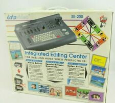 Datavideo SE-200 Integrated Editing Centre Boxed Mint Cond PSU Missing, Untested