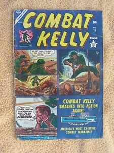 Combat Kelly #15  (1953, Marvel)  ATLAS/TIMELY 2.0 August Sphere Pubs 10 Cent