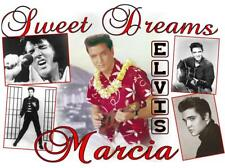 "Personalized ELVIS PRESLEY PILLOWCASE #7 ""Sweet Dreams"" Any NAME Super Soft"