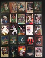 Lot of (25) Baseball Cards Rookies Inserts HOF Stars Free Shipping