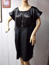 NWT Size 14 MICHAEL KORS Designer Black Dress Satiny Top $179.50 Hot Deal