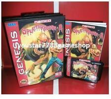 Splatter House Part 3 Genesis Cover for Sega MegaDrive Game system 16 bit MD