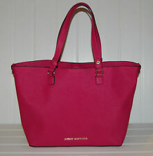 Juicy Couture Sophia Women's Handbag Purse Tote Leather Signature Pink Color