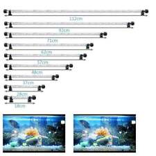 Aquarium LED Light RGB SMD White Blue Strip Light Bar Lamp Lights For Fish Tank