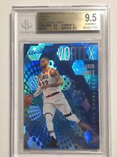 LEBRON JAMES ~2017-18 PANINI REVOLUTION VORTEX CUBIC ~EXTREMELY RARE 27/50