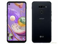 LG Q70 LMQ620VAB - 64GB - Mirror Black (Verizon) Android 4G LTE Smartphone