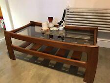 G Plan Teak Katrina Smoked Glass Coffee Table. Vintage Retro. Delivery Available