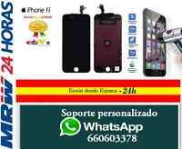 "Pantalla Completa para iPhone 6 4,7"" LCD Táctil Negra Negro + Protector Templado"