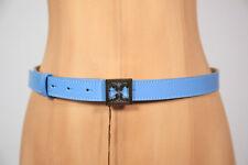 41bb76e3656b8 Neu Coccinelle modischer Hüft Leder Gürtel Belt 85-95 cm 90 Blau (85)