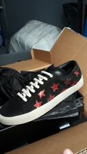 YSL Yves Saint Laurent Gr.37 4 Edel Sneaker Neu Turnschuh Schuh schwarz UVP 499€