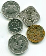 World coins lot of (5) vintage   lotfeb3726