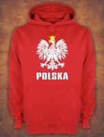 Bluza z kapturem  Polska World Cup Poland Football  Fans Hoodie Red