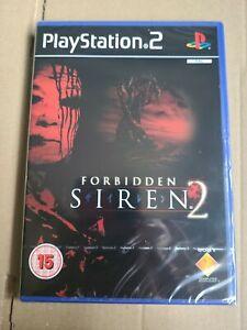 Forbidden Siren PS2 PlayStation 2 Video Game UK Release