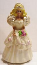 Vintage 1992 McDonald's Barbie Doll Plastic Wedding Figures Cake Topper Happy