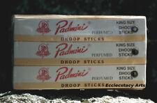 Padmini Incense 12 packs x 10 dhoops, 120 Dhoop Sticks NEW