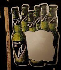 Vintage Molson Ice tin sign whiteboard with erasable marker NOS new