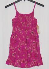Pink Girls Dress NEW NWT Smocked Top 8 MUDD Medallion Small Adjustable Straps