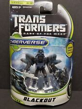 Transformers Dark of The Moon Cyberverse Blackout Figure Commander Class