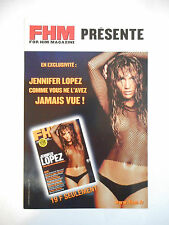 ▓ PLAN MEDIA ▓ FHM presente JENNIFER LOPEZ ( INVITATION CONCERT 2001 )