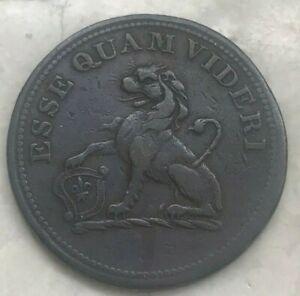1812 Great Britain Hull 1/2 Half Penny - L K Picard Lead Works