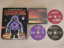 El proyecto jornalero 2: enterrados en el tiempo. PC CD. gran Caja. US Gold. Vintage 1995
