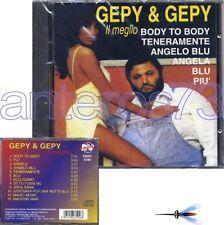 "GEPY & GEPY ""IL MEGLIO"" CD 1997 12 TRACKS - ITALO DISCO"