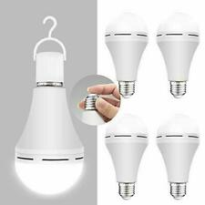 4 Pack Emergency-Rechargeable-Light-Bulb, Stay Lights Up When Power Daylight