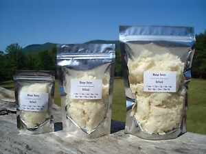 Mango Butter - 100% Pure, Natural, Kosher Refined 4 oz, 1/4 lb