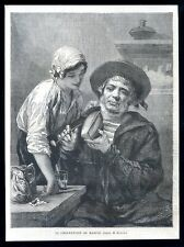 The shipwright...wood engraving...1864