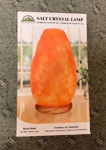 HIMALAYAN GLOW SALT CRYSTAL LAMP NIB