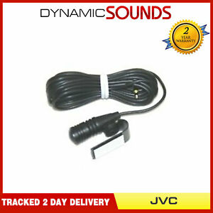 Kenwood / JVC In Car Microphone, For Car CD Player Handsfree Mic Replacement Mic