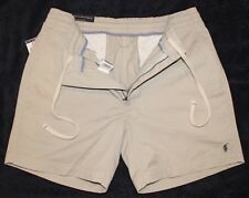 Polo Ralph Lauren Mens Classic Stone Drawstring Waist Shorts NWT $65 Size L