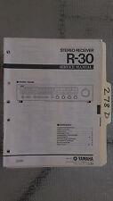 Yamaha r-30 service manual original repair book stereo receiver tuner radio