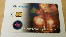 Malaysia TM KL Tower Phone Card  电话卡 Fireworks View