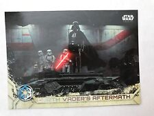 2017 Topps Star Wars Rogue One Series 2 #100 Darth Vader's Aftermath NrMint-Mint