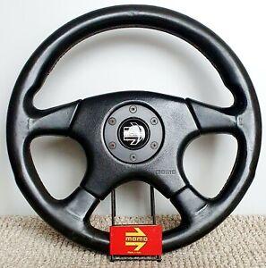 MOMO Honda Access F-1 RARE Leather Steering Wheel EE9 EG6 EK9 DC2 EG EDM JDM SiR