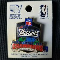 NFL New England Patriots Super Bowl XXXI new metal pin ** SEE DESCRIPTION **