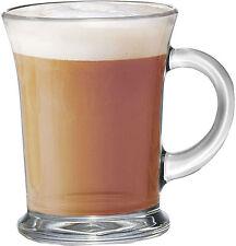 Aroma Clear Glass Tea Coffee Cappuccino Latte Drink Cup Mugs Glass Set 340ml Mug