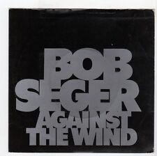 (IJ835) Bob Seger, Against The Wind - 1980 Demo - 7 inch vinyl
