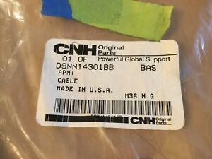 Genuine Ford New Holland Battery Cable D9NN14301BB