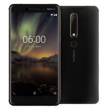 New Nokia 6.1 (2018) 4GB/64GB Single Sim Factory Unlocked- Black