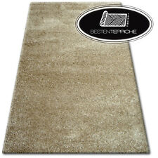 """Cheap Soft Rugs Dark Beige """" Shaggy Narin """" Beautiful To Touch - 9 Sizes"""