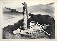 Starvation : Bernard Steffen : 1930s : Archival Quality Art Print