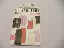 Simplicity #6921 Jacket, Top, Skirt in two Lengths Pattern Sz 8-18