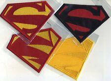 "Superman / Supergirl New 52 -- 4 piece Patch Set [5"" wide]"