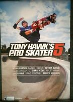 "TONY HAWK'S PRO SKATER 5 -  2-SIDED PROMO POSTER 24"" x 36"" NEW"
