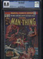 Man-Thing #6 CGC 8.0 Mike Ploog 1974 Steve Gerber