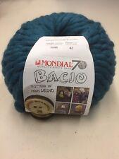 Mondial bacio fil avec 2 en bois Boutons-Shade 96 - 100 g Balle