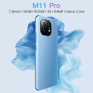 Xiao M11 Pro Deca Core 16G+512G 5G Network Face ID 7.3Inch Screen Global Version