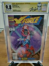 X-Force #2 - 2nd Deadpool, 1st Garrison Kane  - CGC 9.8 Stan Lee SS Newstand